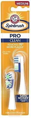 Arm & Hammer Powered Toothbrush Replacement Heads, Medium -