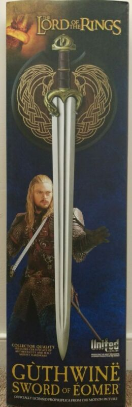 UNITED CUTLERY Lord of the Rings Guthwine The Sword Of Eomer w/ plaque UC3383