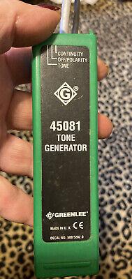 Estate Sale Greenlee 45081 Tone Generator