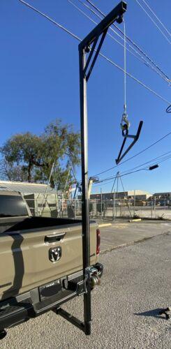 Truck/UTV Mounted Game Hoist w/ 360 Degree Swivel
