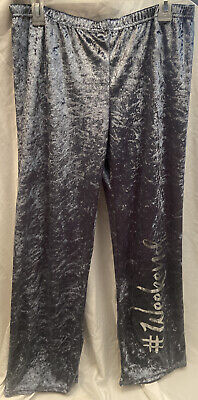 NWT! Women's Size: Large Crushed Velvet Super Soft Lounge Pants! FREE SHIPPING!!