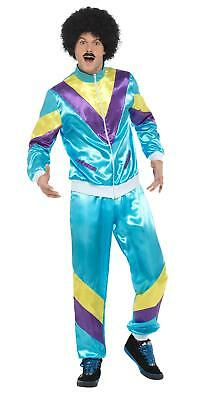 MENS 80's HEIGHT OF FASHION SHELL SUIT COSTUME MALE 80s THE SCOUSERS FANCY - 80's Men's Fashion Kostüm