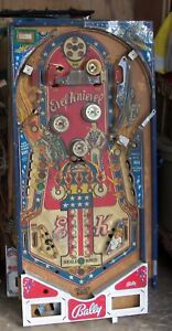 Evel Knievel pinball playfield wanted