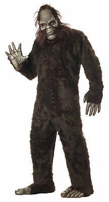 Adult Big Foot Sasquatch Gorilla Full Suit Costume