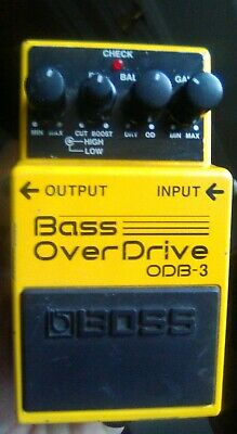 Boss Roland ODB-3 Bass Over Drive Overdrive Guitar Effect Pedal ODB3 -preowned Boss Odb 3 Bass Overdrive