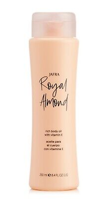 Jafra Royal Almond Rich Body Oil With Vitamin E *better formula*8.4OZ Brand New