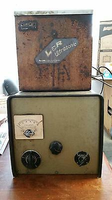 Vintage Lr Ultrasonic Cleaner With A Timer Tank Dental Lab Jewelry