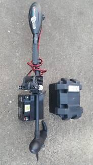 40lb Trolling Motor + 40Ah Battery + Box