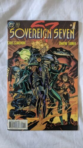 Sovereign Seven #1 - 1995 - Claremont, Dwayne Turner, VF to VF+