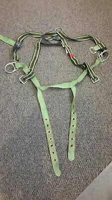 Miller Body Harness Belt Size U Model E650-58 Capacity 310 Lbs. Usa