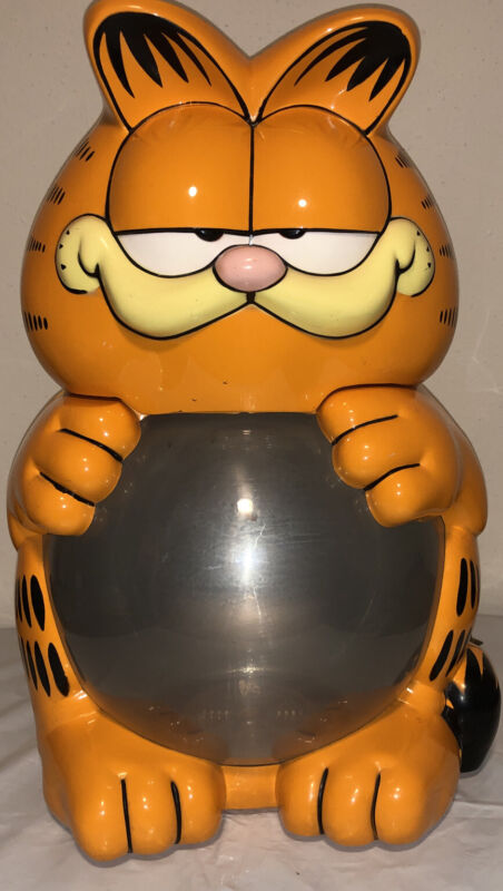 """Vintage Collectable 1978 Garfield 2 Gallon 18"""" Lighted Fish Tank"""