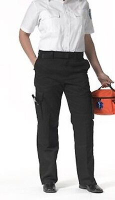 9 Pocket Emt Pant (EMT EMS Women's 9 pocket duty pants Navy Blue Size 2-22)