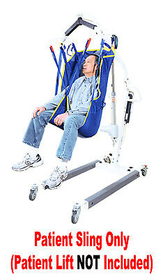 Patient Support - NEW Universal Mesh Patient Lift Sling WITH HEAD SUPPORT Use With Most Lifts