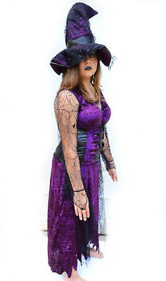 Halloween Costumes For Party (Womens Witch Costume for Halloween Costume Party -)