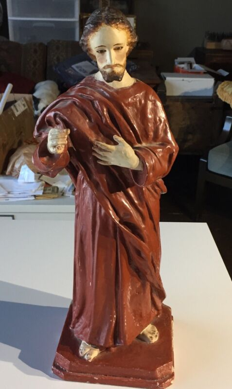 Antique Spanish Or Mexican Santo