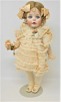 Sandra Freeman Babin 1991 Wendy Ribbons And Ringlets 3/100 Doll Porcelain *2