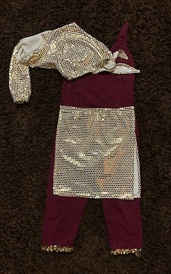 Custom Womens Size Large Arabian Dance - Arabian Woman Costume