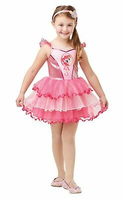 Pinkie Pie My Little Pony Girls Costume Kids Fancy Dress Outfit Offical Licensed ()