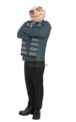 Herren Gru Despicable Me 2 Minion Movie Maskenkostüm Boss Outfit Bösewicht ()