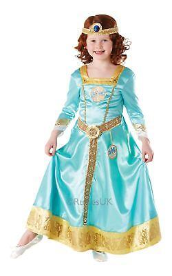 Mädchen Dekorative Merida Kostüm Disney Prinzessin tapferen Kinder Kostüm Outfit