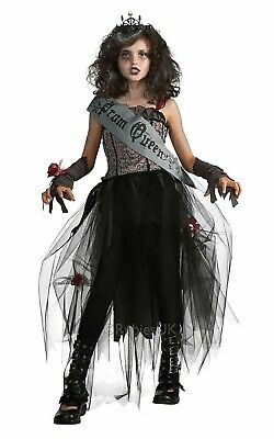 Gothic Prom Queen Costume Zombie Corpse Pageant Fancy - Gothic Prom Queen Halloween Kostüm