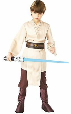 Jedi Knight Boys Costume Kids Disney Star Wars Fancy Dress Outfit Licensed (Star Wars Jedi Knight Kostüm)