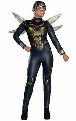 Wasp Marvel Womens Costume Ladies Fancy Dress Outfit - Wasp Marvel Kostüme