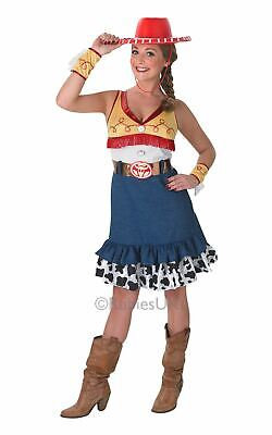 Adult Disney Toy Story Sassy Cowgirl Jessie Ladies Fancy Dress Costume Outfit](Toy Story Jessie Adult Costume)