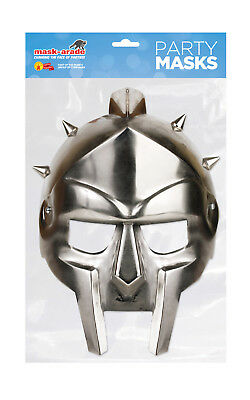 Mask-Arade - Neu Gladiator Helm Heritage Maske Kostüm Weltweit