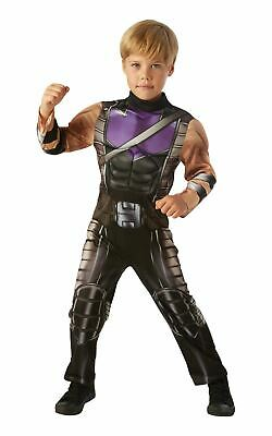 Hawkeye Marvel Avengers Boys Fancy Dress Costume - Hawkeye Costume For Boys