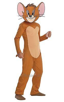 Jungen Mädchen Jerry Maus Tom und Cartoon Tv-Show Tier Kostüm Kleid - Jerry Maus Kostüm