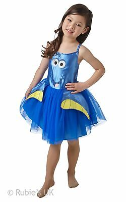 Girls Dory Costume Kids Disney Finding Nemo Fancy Dress Fairytale Licensed - Finding Nemo Dory Kostüm