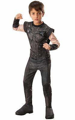 Thor Infinity War Marvel Boy's Costume Kids Fancy Dress Outfit DC comics hero