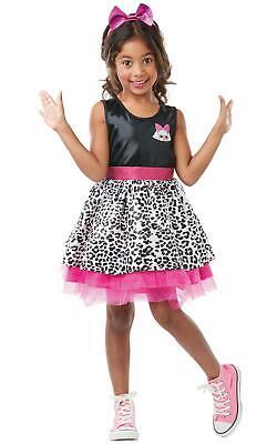 Diva Costumes For Girls (Lol Doll Diva Girls Fancy Dress Costume)