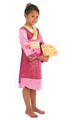 Mädchen Orientalische Prinzessin Chinesisch Geisha Asiatisch Japanisch - Oriental Chinese Kostüm