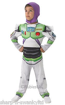 Buzz Lightyear Jungen Kostüm (Disney Jungen Toy Story Buzz Lightyear Buch Tag Fach Kostüm Kleid Outfit)