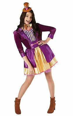 Willy Wonka Chocolate Factory Womens Costume Ladies book week fancy dress outfit - Willy Wonka Costume Women
