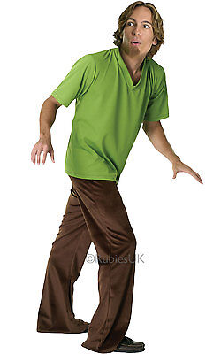 FANCY DRESS COSTUME ~ scooby doo DELUXE SHAGGY INC - Shaggy Scooby Doo Wig
