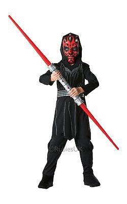 Jungen Darth Maul Star Wars Sith Lord Jedi Movie Film Kostüm Kleid Outfit