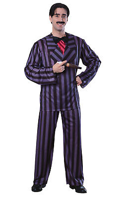 Dlx Addams Family Gomez Fancy Dress Costume Outfit Adult Mens Male Std Or XL