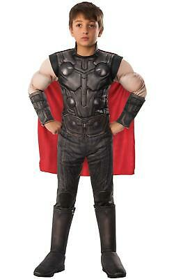 Official Avengers Endgame Thor Deluxe Child Boys Fancy Dress Costume