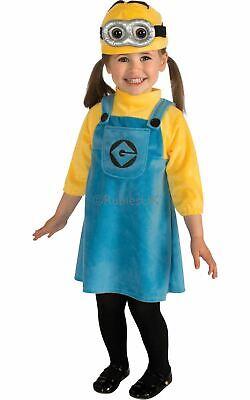 Girls Despicable Me Female Minion Costume Kids Fancy Dress - Minions Girl Kostüm