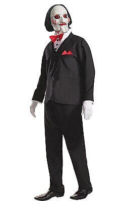 he Puppet Halloween Fancy Dress Costume Size M-XL (Saw Puppet-halloween Kostüm)