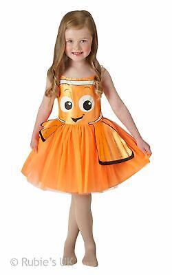 Girl's Nemo Tutu Classic Fancy Dress Costume (Nemo Girl Kostüm)