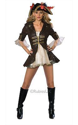 Damen Karibik Pirat Freibeuter Königinnenkostüm Erwachsene Kostüm Damen Outfit