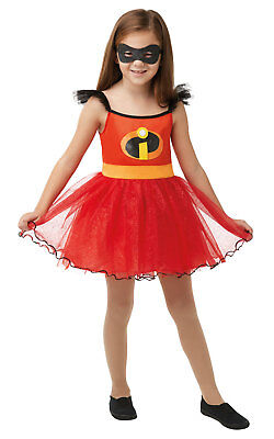 Kinder Mädchen Incredibles 2 Tutu Kleid Kostüm Film Kostüm