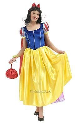 Damen Schneewittchen Disney Prinzessin Film Erwachsene Kostüm Kleid - Prinzessin Outfits Erwachsene