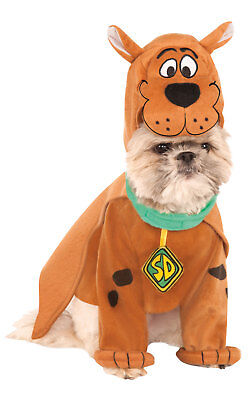 Scooby Doo Halloween Costumes For Dogs (Rubies Scooby Doo Fancy Dress Costume Outfit Dog Halloween Pet Animal S To)