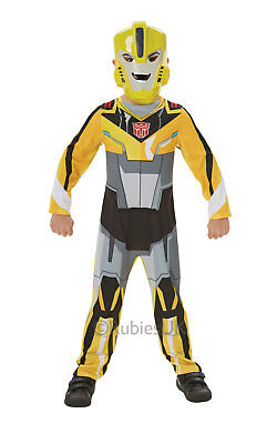 Bumble Bee Costume Kids (SALE! Kids Transformers Bumble Bee Boys Fancy Dress Childs Costume Party)
