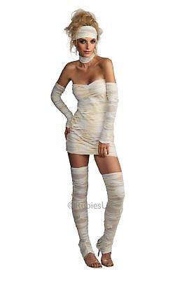 Damen Ägyptisch Mumie Sexy Halloween Untoter Zombie Kostüm Kleid Outfit
